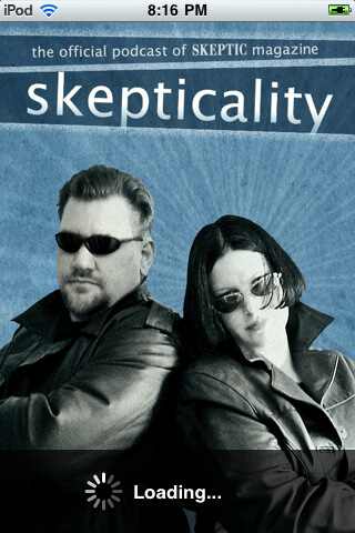 Skepticality Mobile Splash Screen